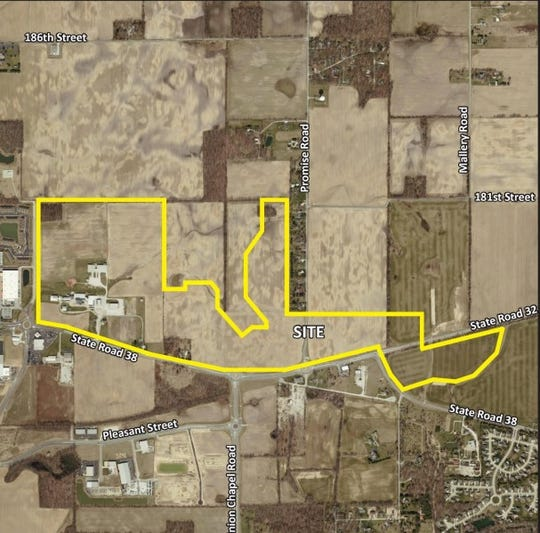 Boomerang Development of Fishers is behind the 240 acre project in Noblesville.