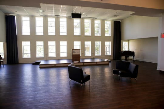 The Wells Reception Hall the Tippecanoe Arts Federation, Friday, July 12, 2019 in Lafayette.