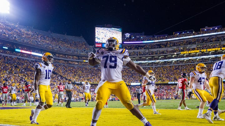 LSU's Lloyd Cushenberry: From 2-star prospect to a likely mid-round NFL draft pick