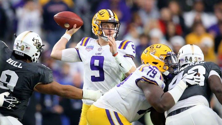 Mighty Joe Brady is LSU's latest, greatest hope for a pass game on life support for years