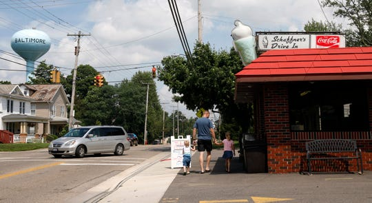 Shaffner's Drive In has been open in the same location for 60 years in Baltimore.