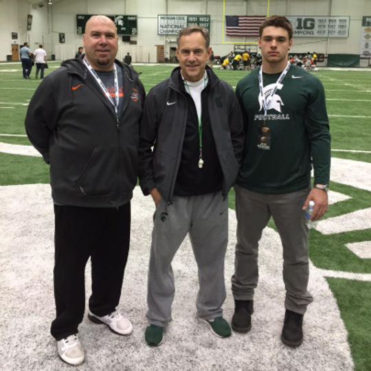 Joe Bachie and his father share more than just a first name. The father coached his son throughout his athletic career and pushed him to become a Big Ten linebacker.