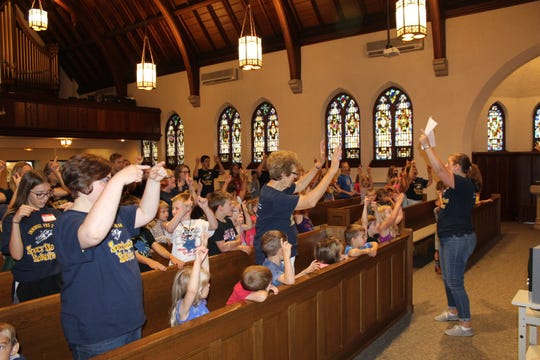 More than 70 children participated in last year's free VBS program at Immanuel Lutheran in Manitowoc.