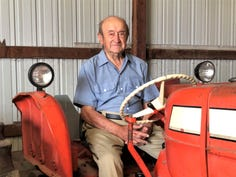 Meet Wisconsin farmer Leonard Sauer: 99 years old and still drives a tractor