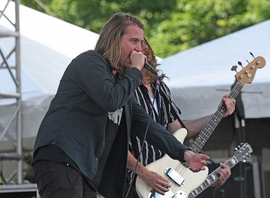 The band Broken Hands performs Friday on the main stage at Inkcarceration.