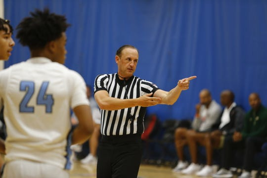 Keith Patterson is a Jason's Deli owner in Memphis who doubles as a college basketball referee with dreams of moving into a power-five conference soon.