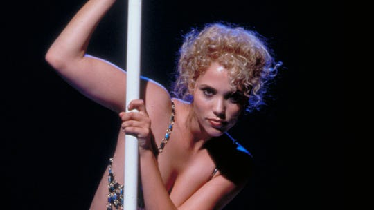 "Movie stardom for ""Saved by the Bell"" graduate Elizabeth Berkley dematerialized after she exhibited her ecdysiastical all in ""Showgirls."""