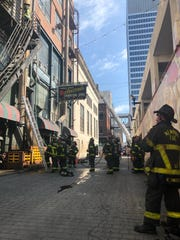 Memphis Fire crews respond to Rendezvous on July 12, 2019