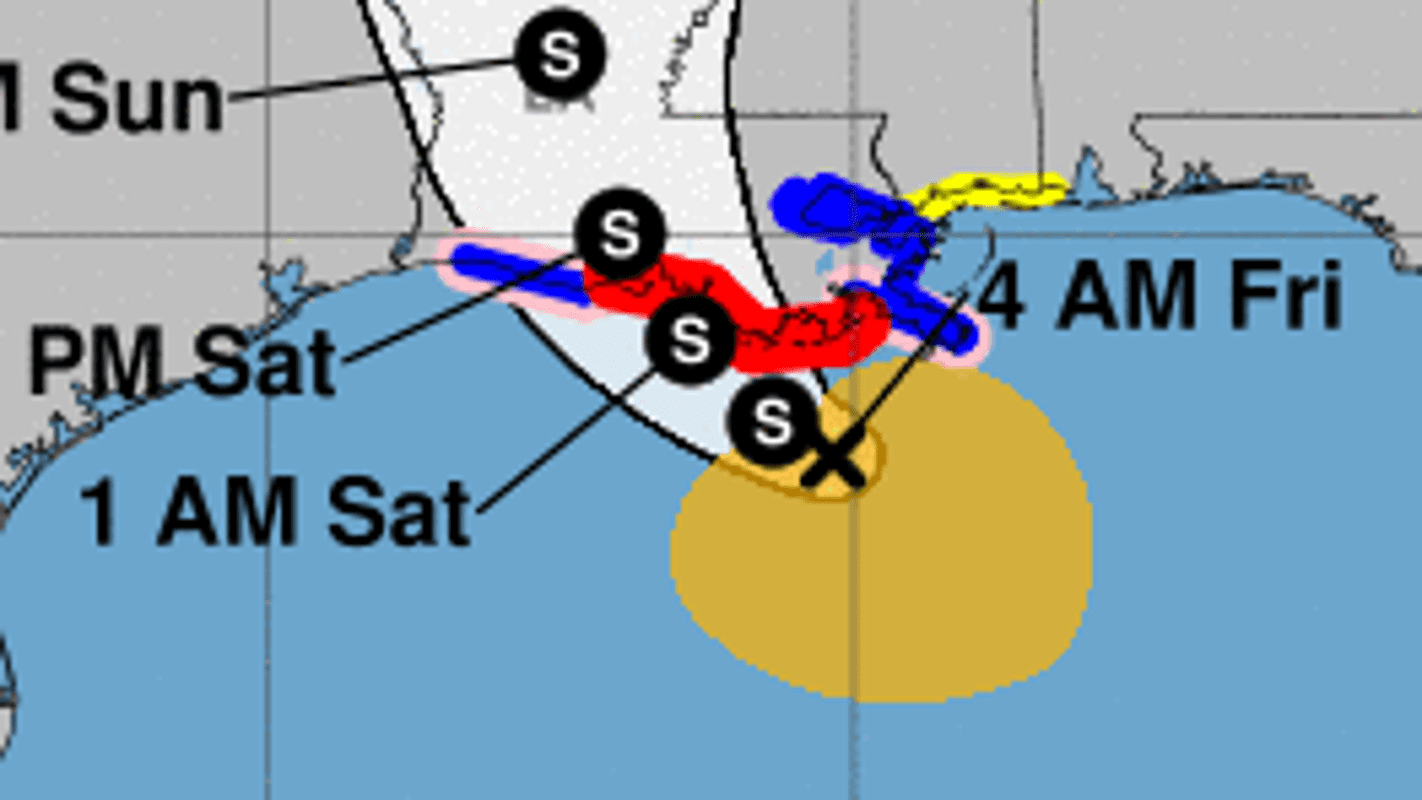 """Tropical depression Barry: Small chance of """"spin-off"""" tornadoes in Mid-South"""