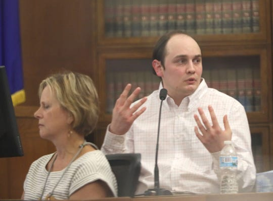 Jordan P. Fricke takes the witness stand and explains his actions on the day he shot and killed Milwaukee Police Officer Matthew Rittner. Fricke says he acted in self-defense.