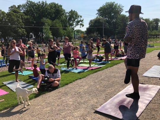 Jaire Alexander said yoga helps him with his flexibility.