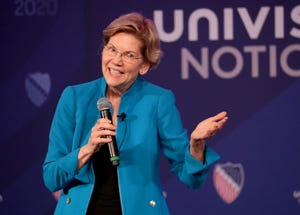 Warren will host a town hall in Tempe.