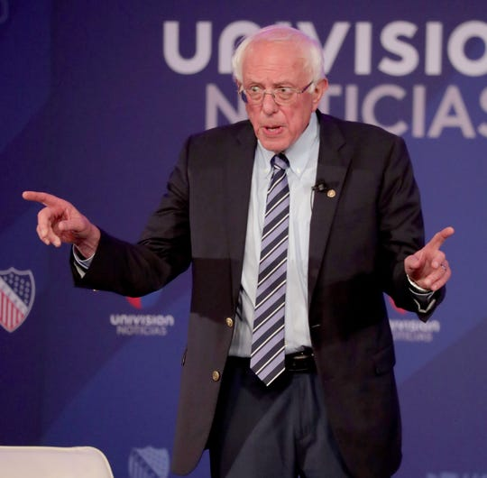 U.S. Sen. Bernie Sanders of Vermont spoke earlier this year in Milwaukee at the League of United Latin American Citizens (LULAC) national convention town hall.