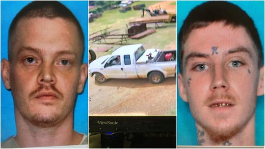 Two men considered armed and dangerous have escaped custody in Union Parish. The suspects left a work release detail around noon on Friday in a white Ford F-250 that belongs to the Union Parish Police Jury.