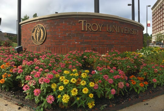 Troy University's downtown Montgomery campus has landed a Tree Campus USA designation.