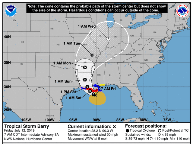 Tropical Storm Barry: Heading to the beach? Think again