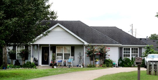 The Smyrna home where a 3-year-old died after being left in a vehicle on Thursday.
