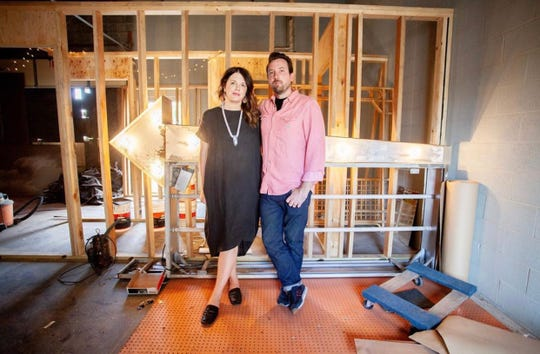 Louisa and James Green, the owners of Headquarters Coffee, are bringing an upscale dive bar to Charlotte Avenue.