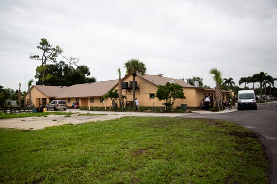 Guadalupe Social Services, which assists community members in a variety of ways including a soup kitchen, food pantry, and hot showers, was quieter than usual on Friday morning, according to program coordinator Peggy Rodriguez. She said the line for the clothing room would usually be much longer. Social service agencies in Immokalee say that many undocumented immigrants stay inside their homes when there are reports of ICE agents in town, like there were in the early morning on Friday, July 12, 2019.