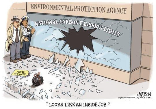 """EPA's """"inside job"""" on coal rules."""