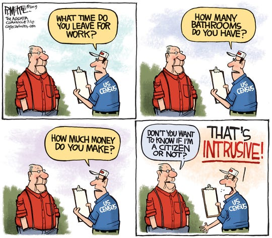 "Census question ""intrusive."""