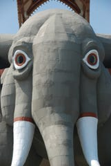 MARGATE, NJ: Lucy the Elephant celebrated her 130th birthday in July. At 6 stories and 9 tons, she is the largest elephant in the world.  PHOTO BY SCHENSUL