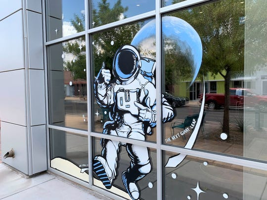 The Las Cruces Museum of Nature and Science, 411 N. Main St., marks the upcoming 50th anniversary of the Apollo 11 moon landing. Thursday, July 11, 2019.