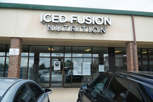 Iced Fusion Nutrition at 42090 Ford Road in Canton.