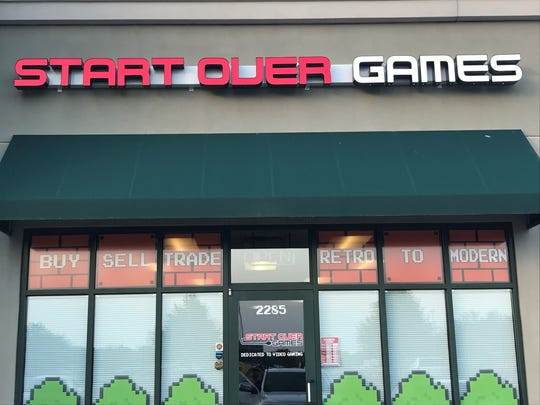 Start Over Games is open for business in Oshkosh at 2285 Westowne Ave.