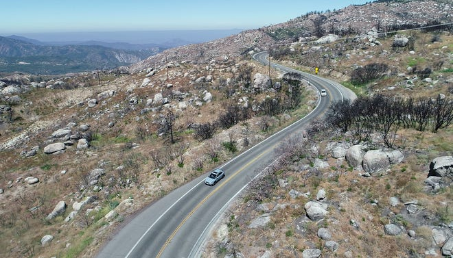 Curvy, steep and only two lanes, Highway 243 runs from Banning to Mountain Center.
