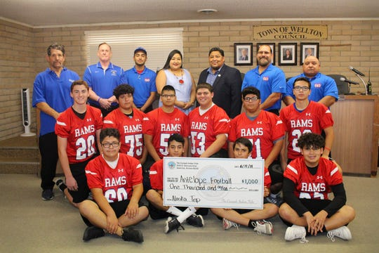 The Antelope football team is going to Alaska.