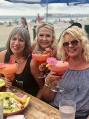 I took a quick trip to San Diego to hang out with girlfriends. The plane ride home was bumpy.