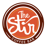 The logo for The Stir Coffee Bar, a new concept set to open with the Gin and Reel Speakeasy in High Street this fall. The new North Phoenix coffee bar is created by comedian Rick Bronson.