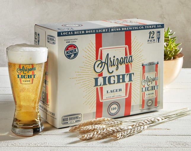 The Arizona Light Lager from Huss Brewing Co.