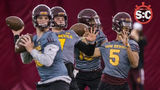 With practice around the corner, Dana Scott and Michelle Gardner preview a couple of the position battles for Sun Devil football.