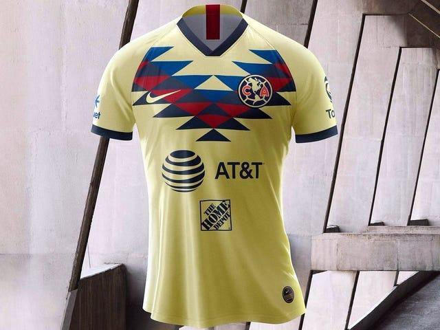 more photos d51b9 9a18f El nuevo uniforme de las Águilas del América para el ...