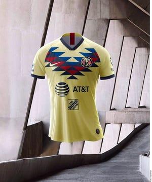 Así luce la nueva casaca de las Águilas del América.