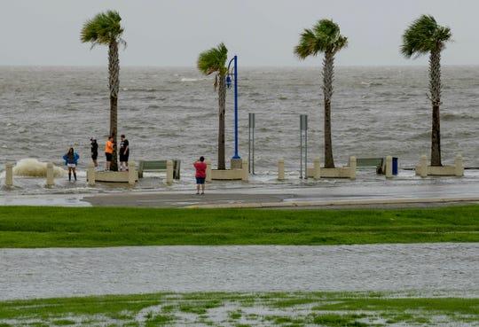 La costa de Nueva Orleans en alerta por la tormenta Barry.