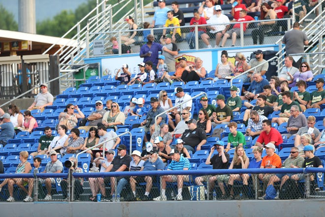 Scenes from Wednesday's game between the Hudson Valley Renegades and the Staten Island Yankees at Dutchess Stadium in Fishkill on July 10, 2019.