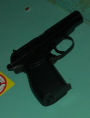 Police said this Makarov pistol was found in a home in the first block of North Hartley Street on July 10, 2019.