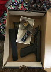 Police said they seized this stolen Glock 34 from a home in the first block of North Hartley Street on July 10, 2019.