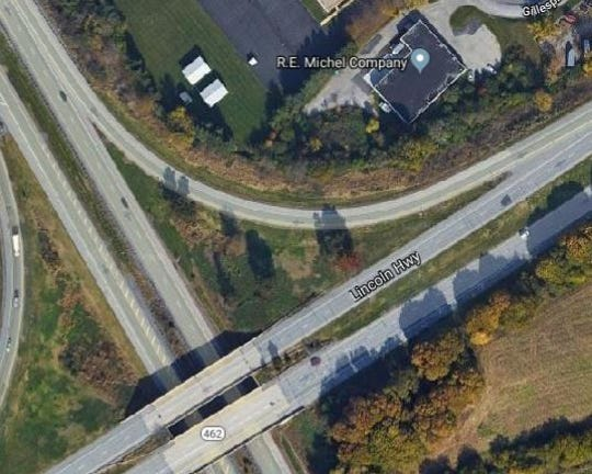 Route 30 ramp to close Sunday night for paving