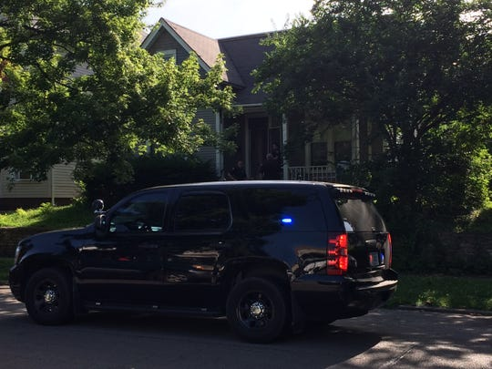 A man was shot early Friday morning in a residence in the 100 block of South 15th Street.