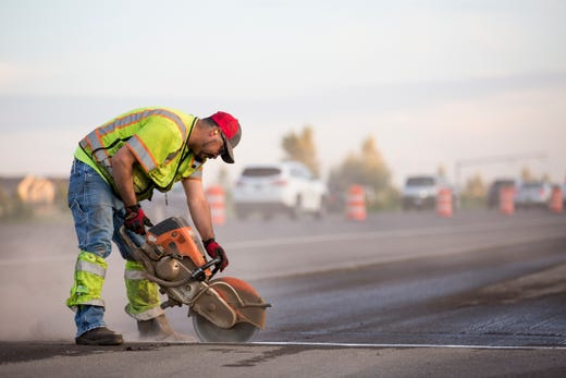 Interstate 5 paving project to include Saturday nights following rainy weather in Salem