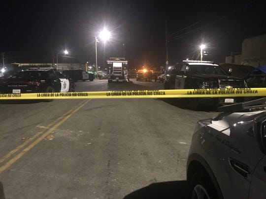 Around 9:45 p.m. Thursday, July 11, 2019, the area of a crime scene was still closed as police investigated a homicide that occurred earlier in the evening.