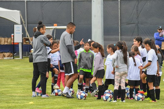 Friday's event, the girls combine, included girls from across Monterey County age 9-18.