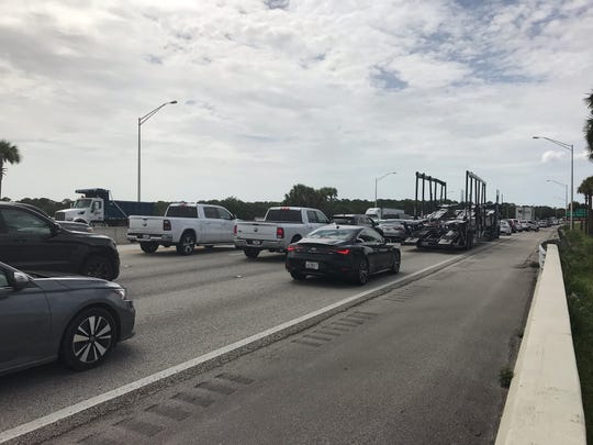 A crash on Interstate 95 near Vero Beach has closed all northbound lanes on Friday, July 12, 2019.