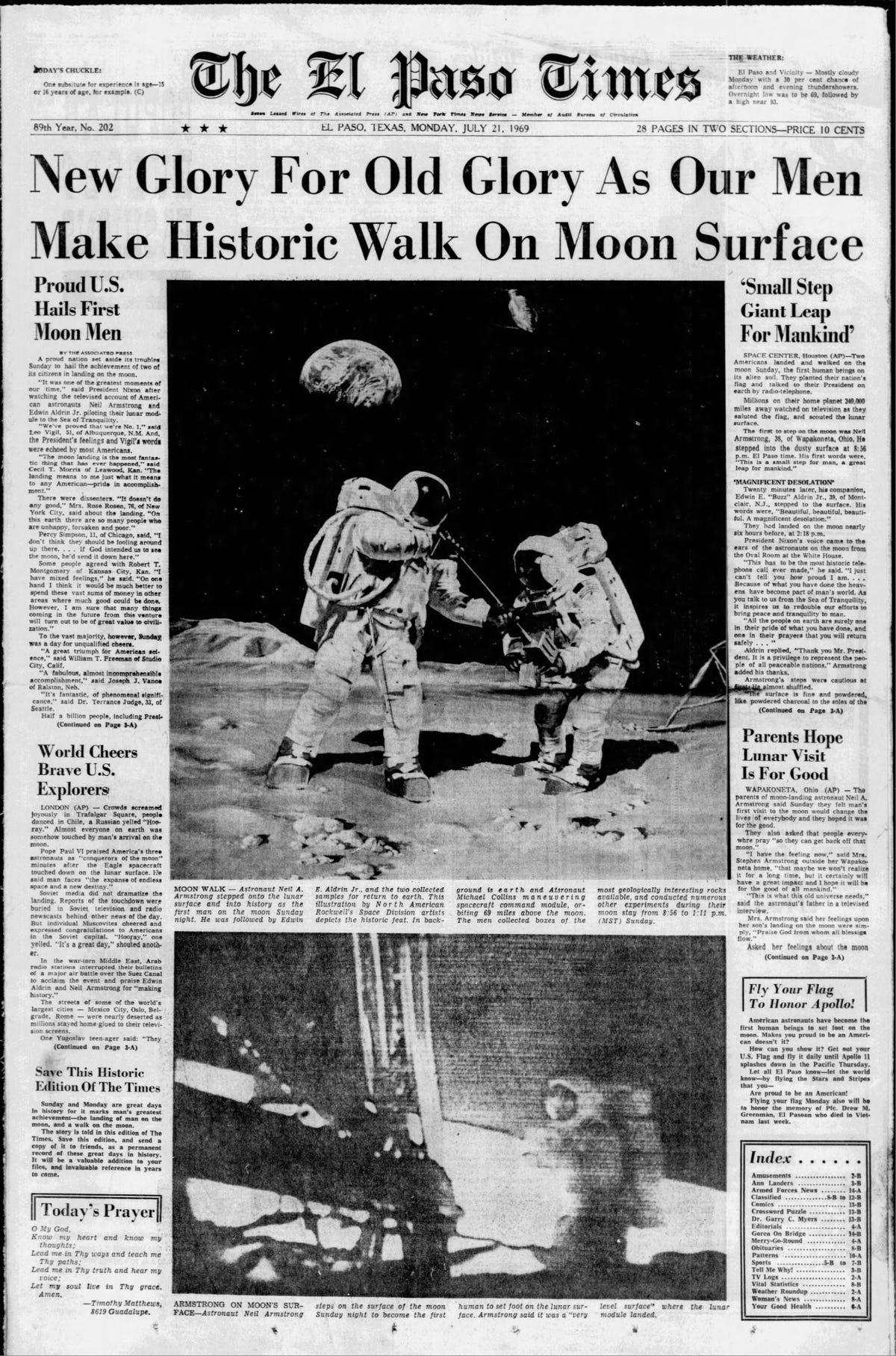 El Paso astronaut reflects on how moon landing shaped his career