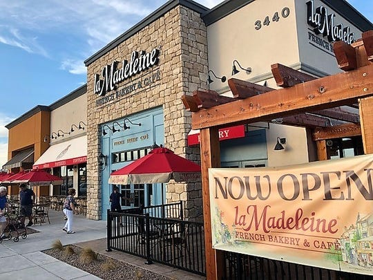 El Paso's third La Madeleine French Bakery & Cafe location opened July 9 at 3440 Joe Battle Blvd.