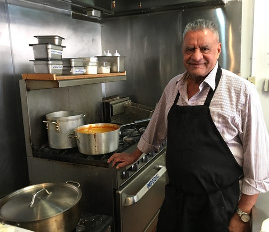 Piara Singh oversees the kitchen at Indian Rasoi in Ventura. The order-at-the-counter restaurant opened in June at what previously was Mandala Express.